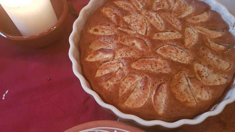 middeleeuwse volkoren appeltaart