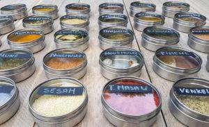 kruidenpotjes organiseren met ikea