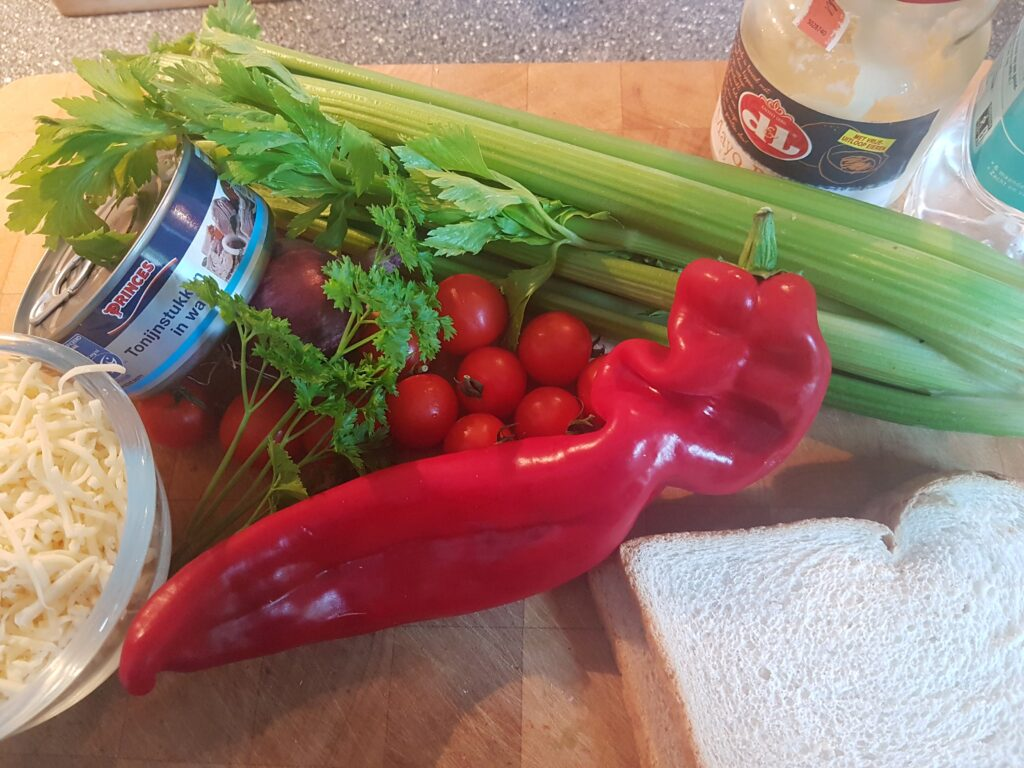 ingredienten voor Tuna melt